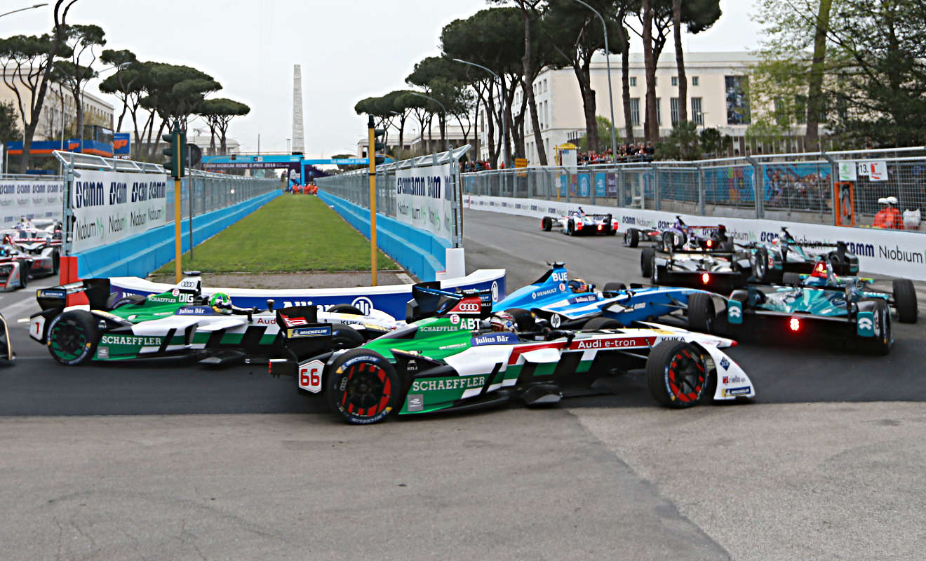 Formel E in Rom.