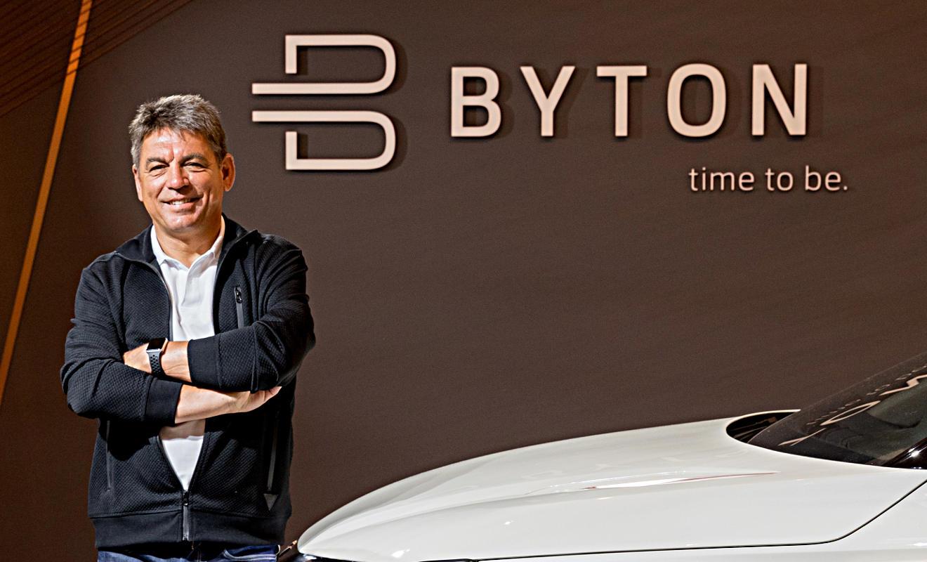 Carsten Breitfeld. foto: Byton