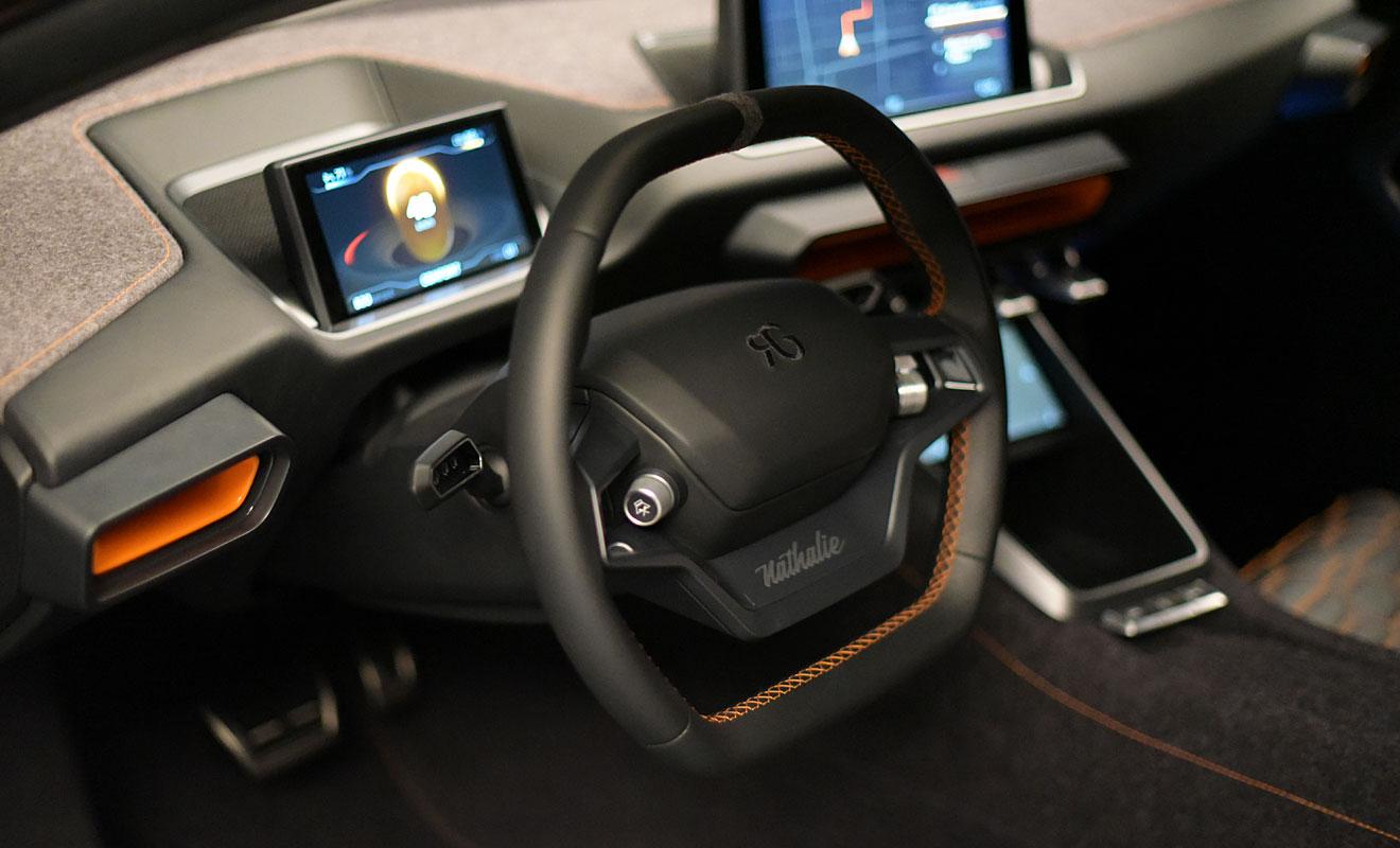 Das Cockpit von Gumperts Nathalie. Foto: AG/Blumenstein