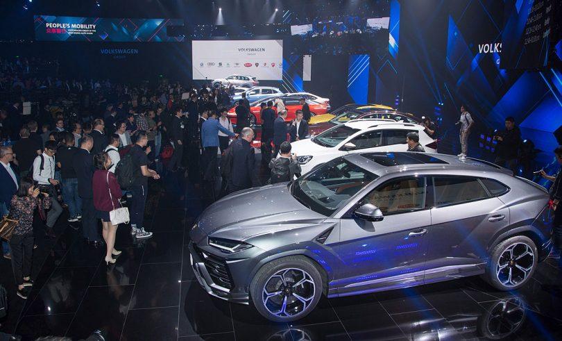 VW auf der Auto China. Foto: Volkswagen