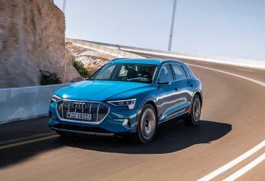 Der neue Audi e-tron. Foto: Audi